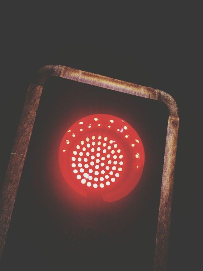 Semaphore Redlight Trafficlight Slow Living Laciudad Street