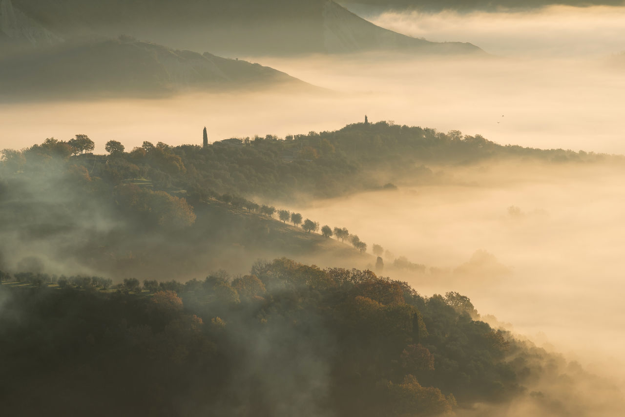 "Sunrise at the ""Calanchi Valley"" Civita Di Bagnoregio Eye4photography  EyeEm EyeEm Best Edits EyeEm Best Shots EyeEm Best Shots - Nature EyeEm Gallery EyeEm Nature Lover EyeEmBestPics Eyeemphotography Fog Foggy Foggy Morning Italy Landscape Landscape_Collection Landscape_photography Lazio Nature Nature_collection Sunrise Travel Travel Destinations Travel Photography Traveling"