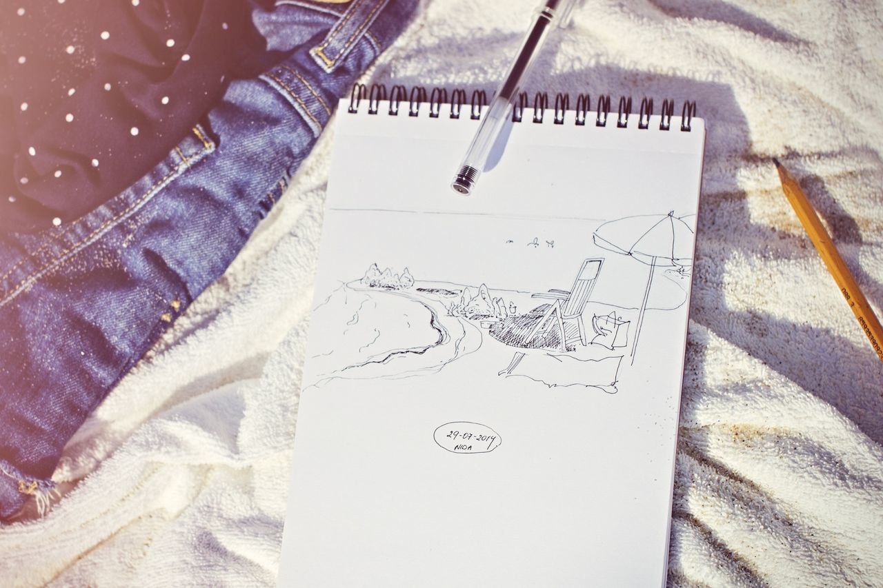 Beautiful stock photos of sketch, Art, Bed, Book, Creativity