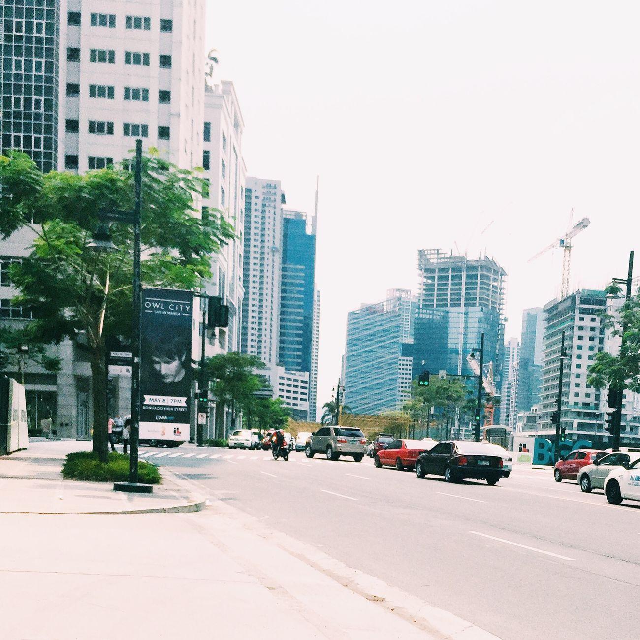 Cityscape 🏦 City Manila Walking Around Business Sunshine Sick