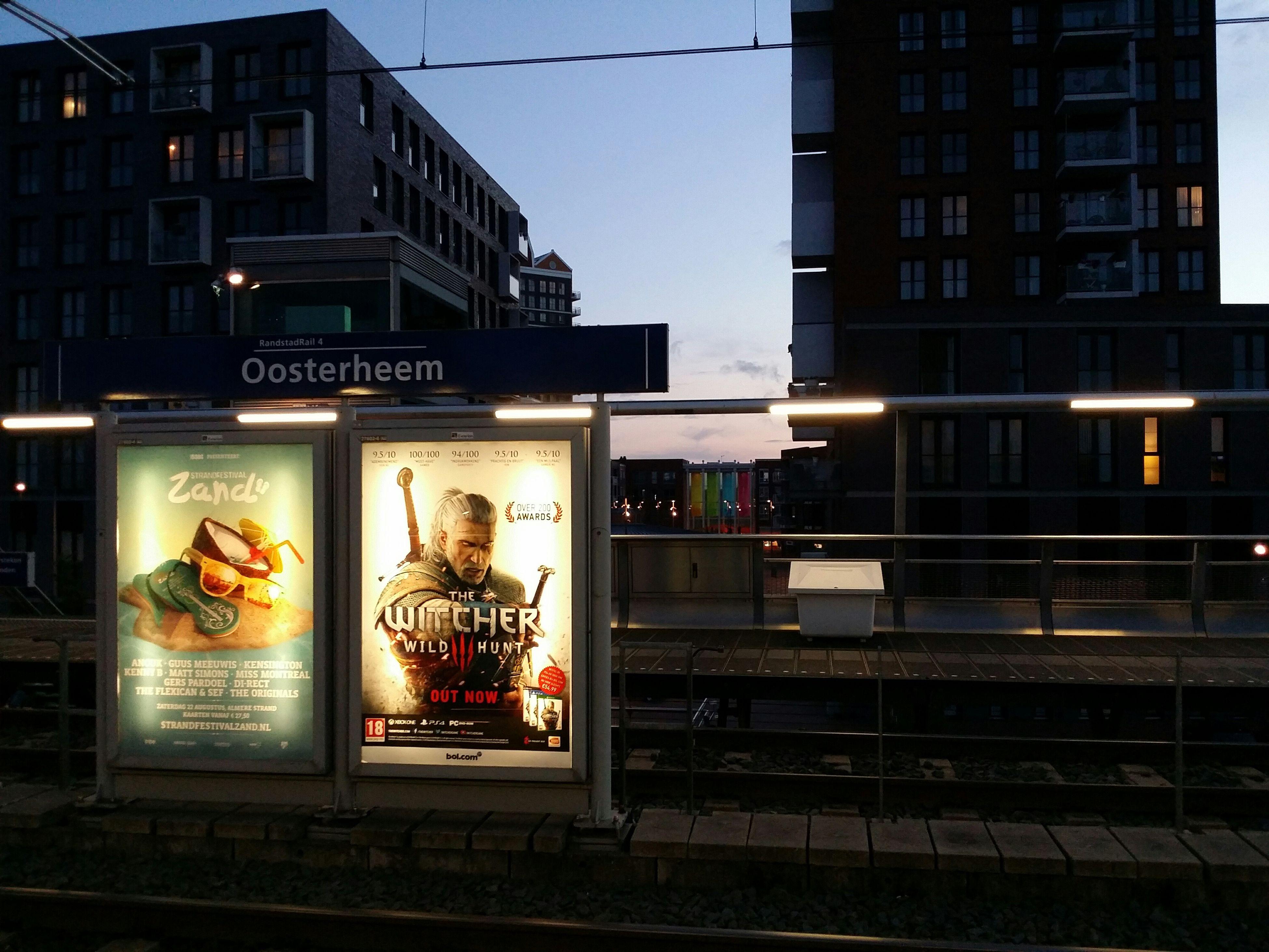 Railway Station Zoetermeer City Life