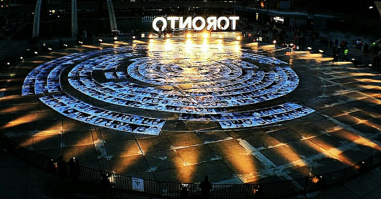 Circle Art Artistry Nuitblanche Nuitblanche2015 Toronto Photoboothprops Canada Nathanphillipssquare