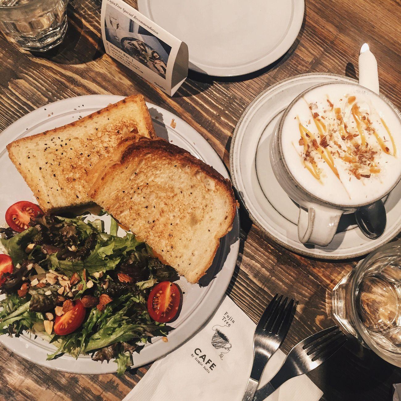 Sandwiches Toffee Milk Brunch Yummy♡