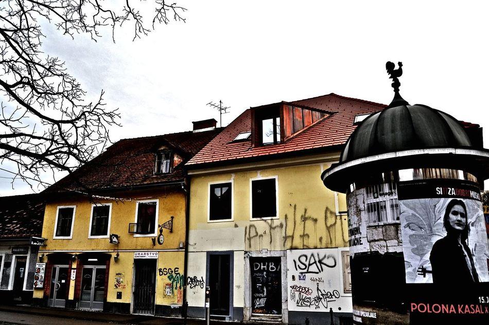 Lubljiana Slovenia Houses Travelling