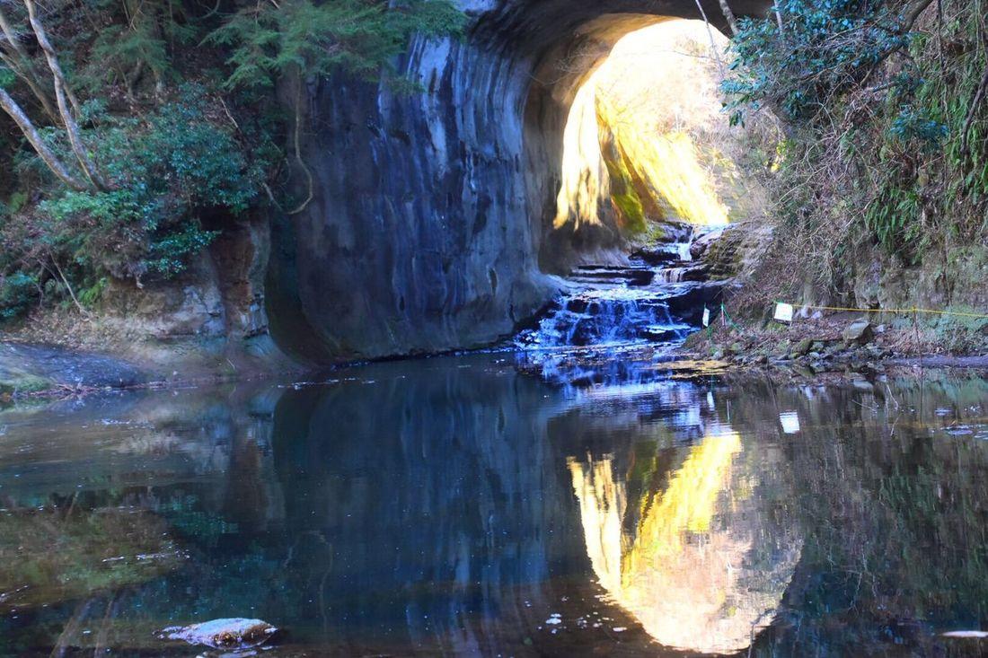 Chiba Water Nature Beauty In Nature Reflection Waterfall Nomizo_waterfall Unexplored Japannature Japan