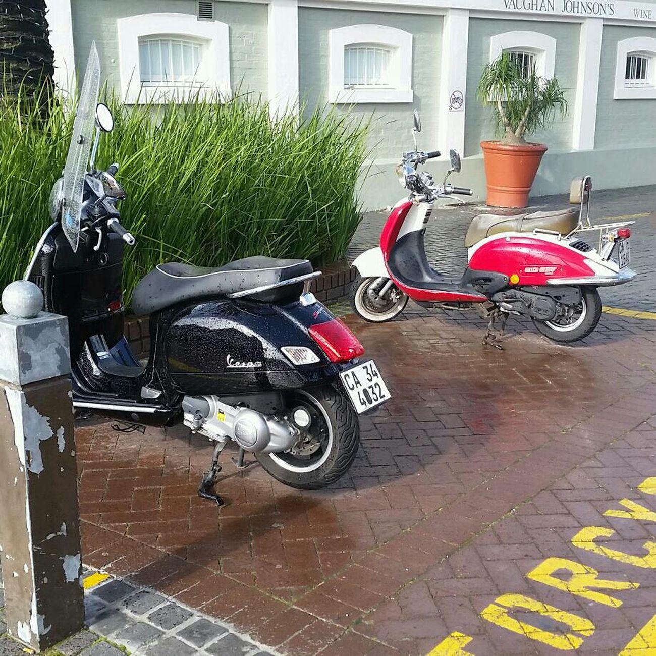 Vespa Cape Town I Love Cape Town V & A Waterfront