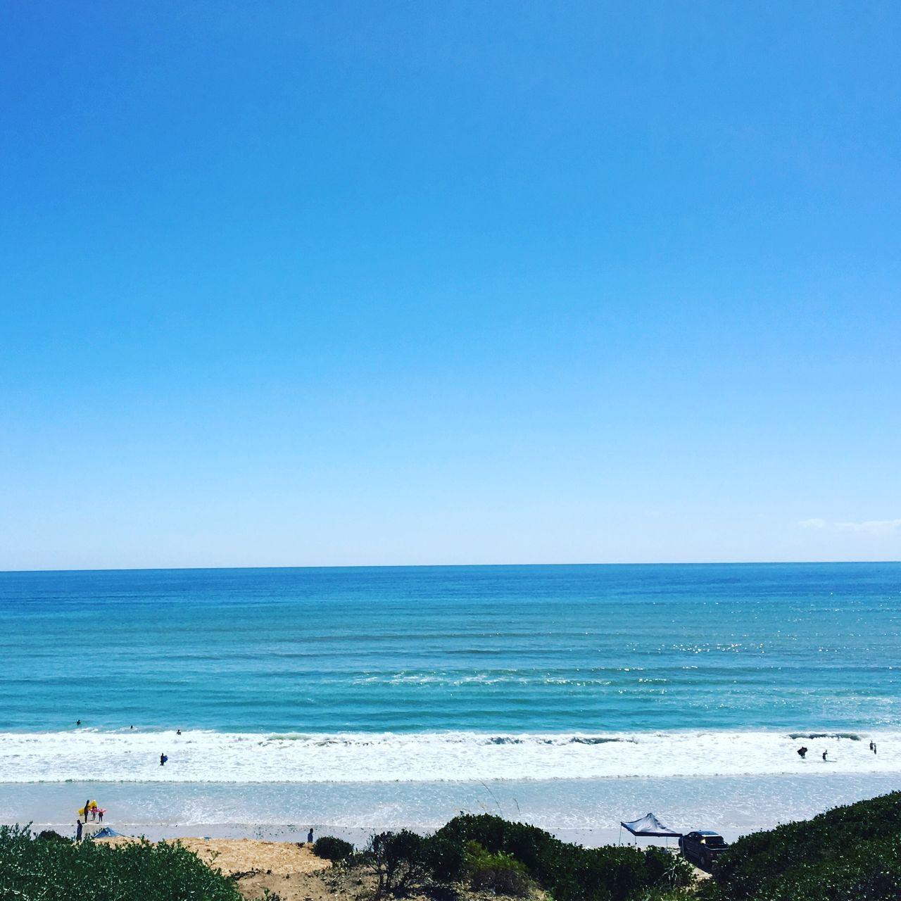 Horizon Over Water Sea Water Beach Blue Scenics