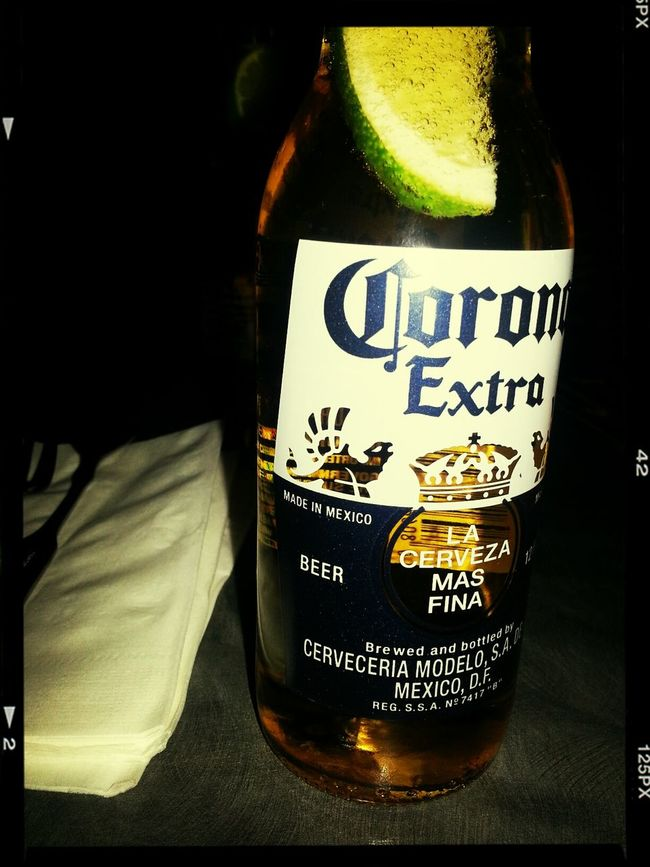 Corona Beer Drinking Beer Relaxing Hanging Out With Friends