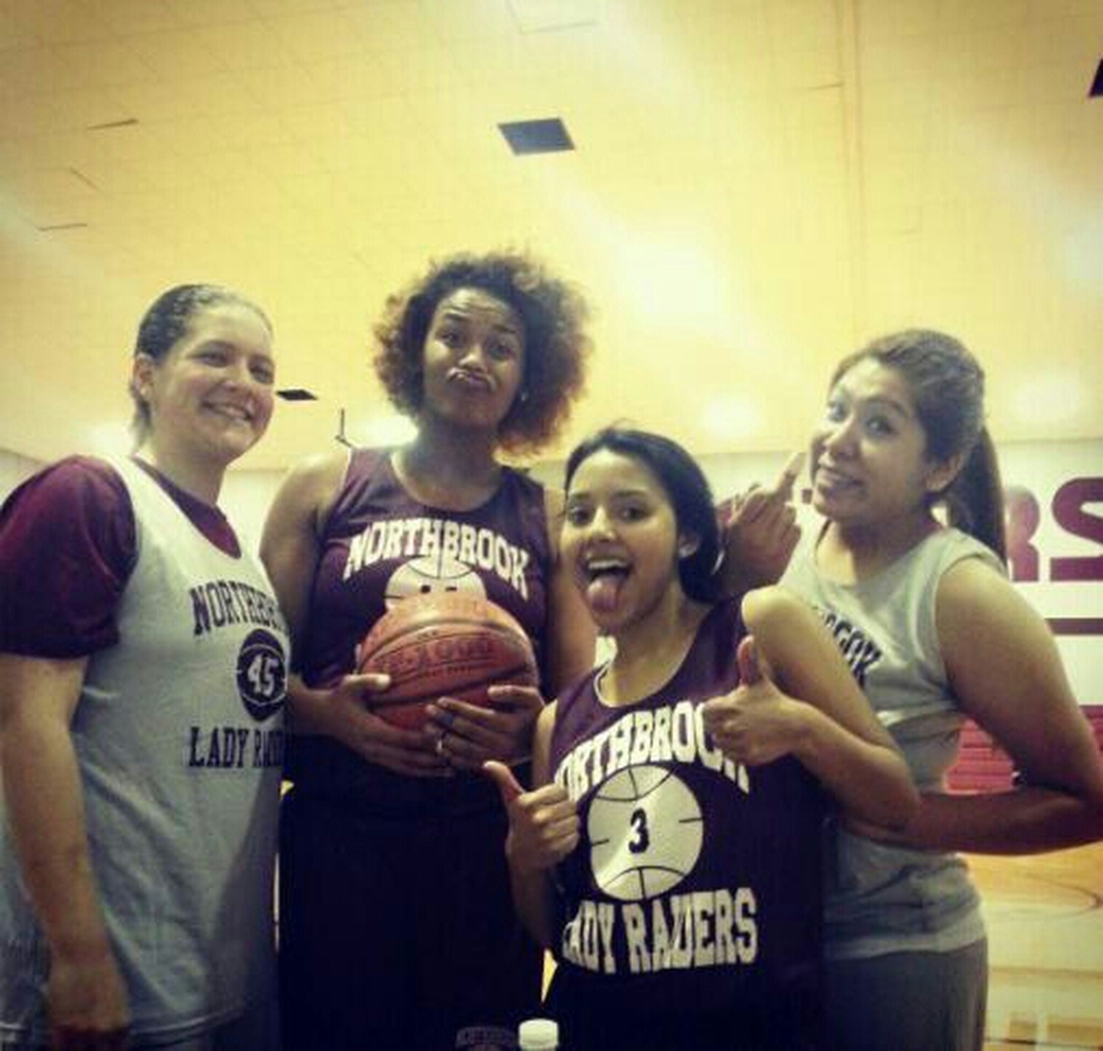 Last Day of basketball practice!! (: