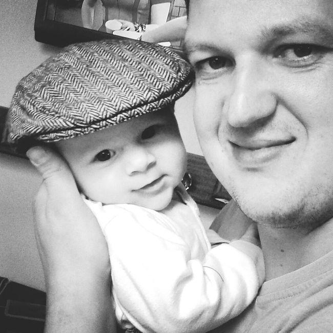 B&W Portrait Love Of My Life ♥ I Love My Son I Love My Boyfriend Happy Family! ❤ Sweet Boy