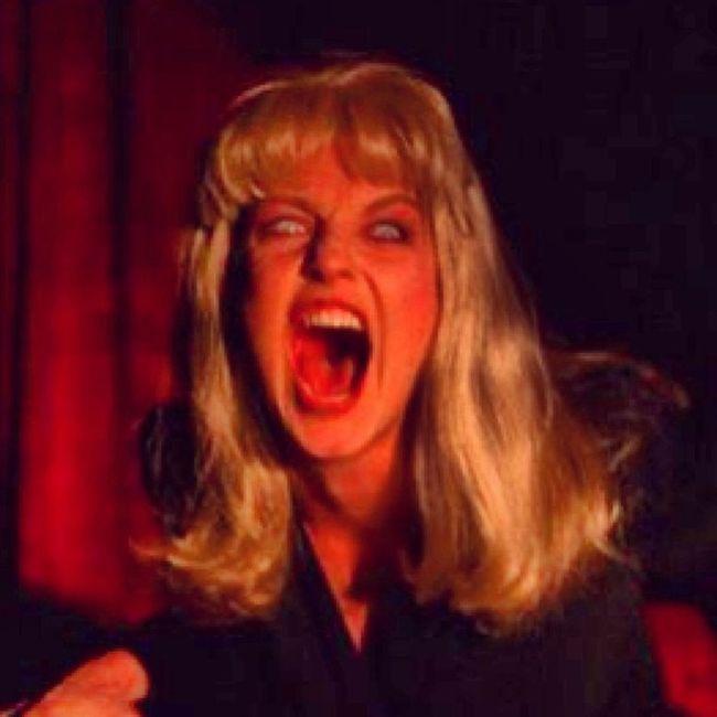 Twinpeaks Laurapalmer Screaming Scream theredroom blacklodge waitingroom