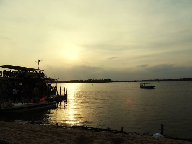 WayToParadiseBeach Boattrip Pondichery