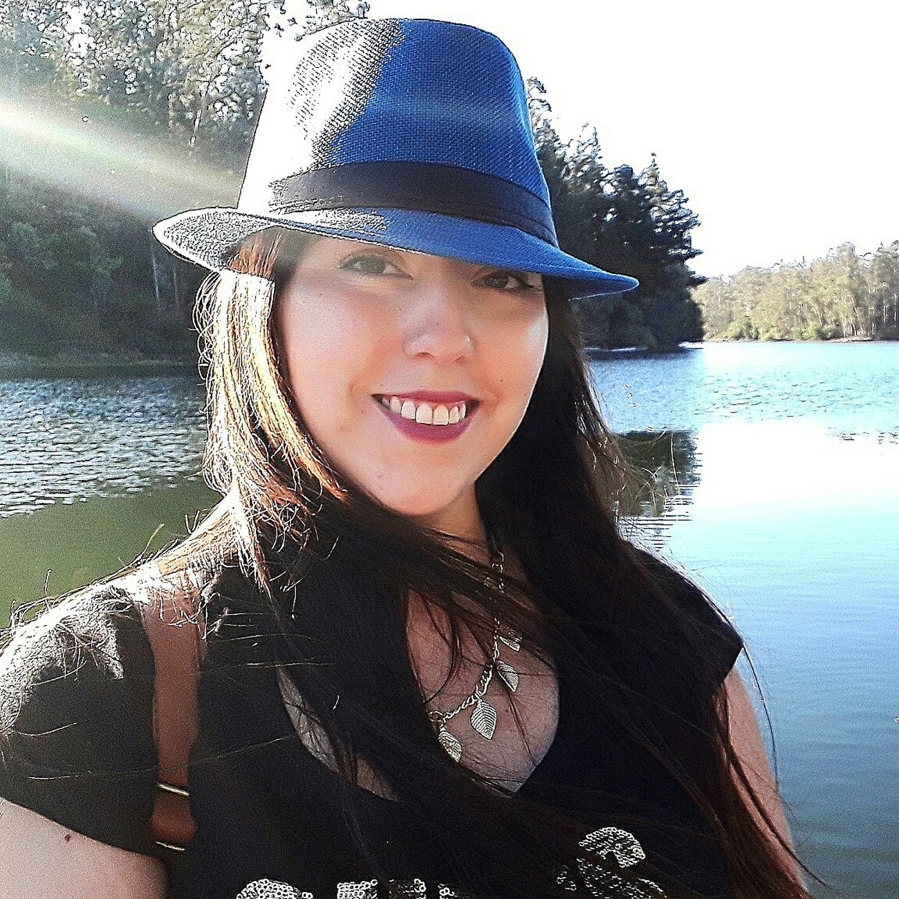 👒. Smiling Young Adult Happiness Water Portrait Adults Only Cheerful Headshot Young Women One Person People One Young Woman Only Adult Close-up Day Only Women Human Body Part One Woman Only Outdoors Nature Nature Paisaje Chilena Photo♡ Chile