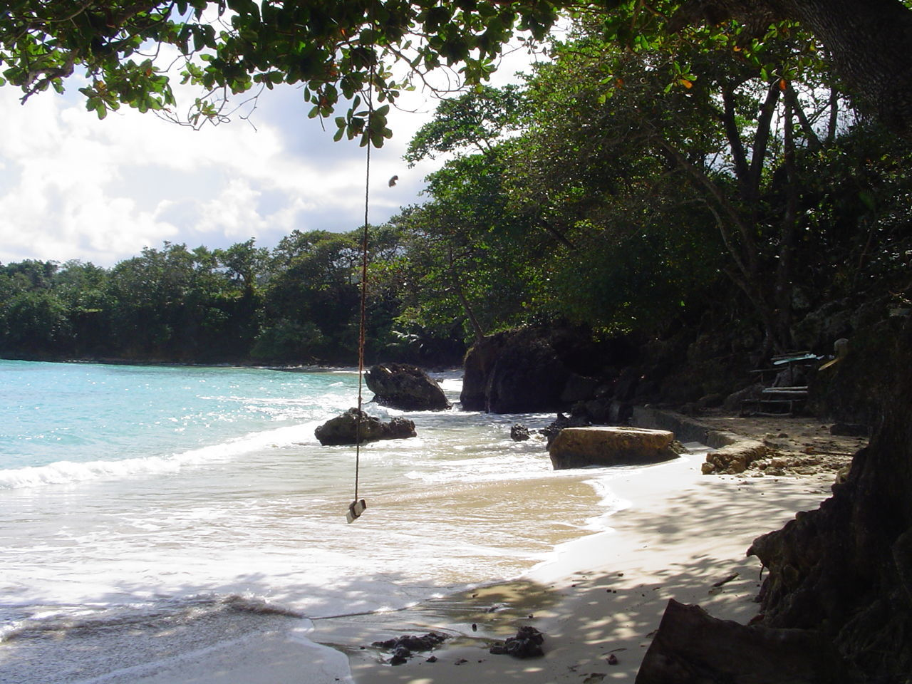 Beach Beauty In Nature Calm Cloud Day Idyllic Jamaica Jamaican Majestic Nature Remote Scenics Sea Shore Sky Solitude Tide Tourism Tranquil Scene Tranquility Tree Vacations Water Wave