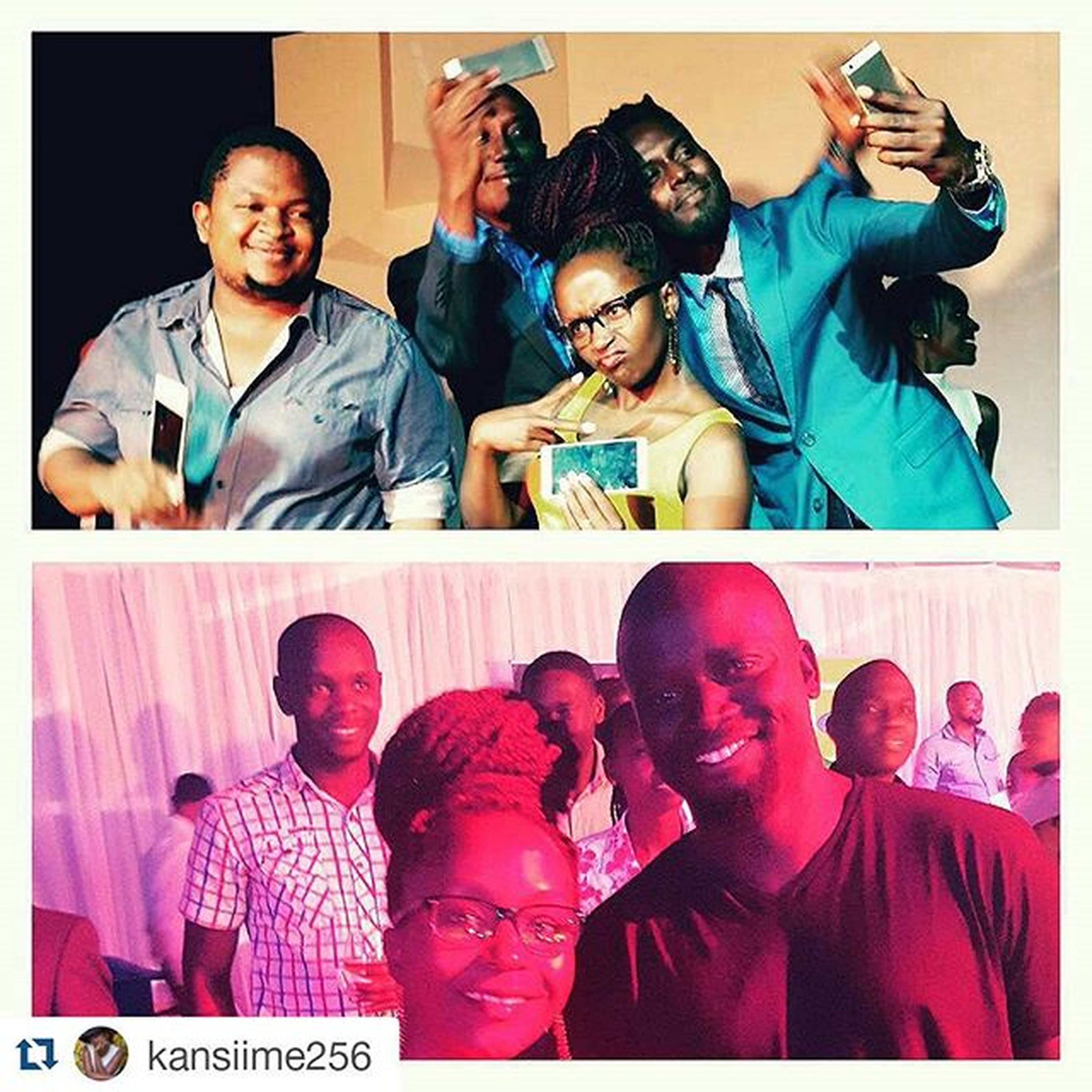 Repost @kansiime256 ・・・ At the HuaweiP8 launch. Proudly associated. GotAFreeOne . Sharedblessings IAmAReason