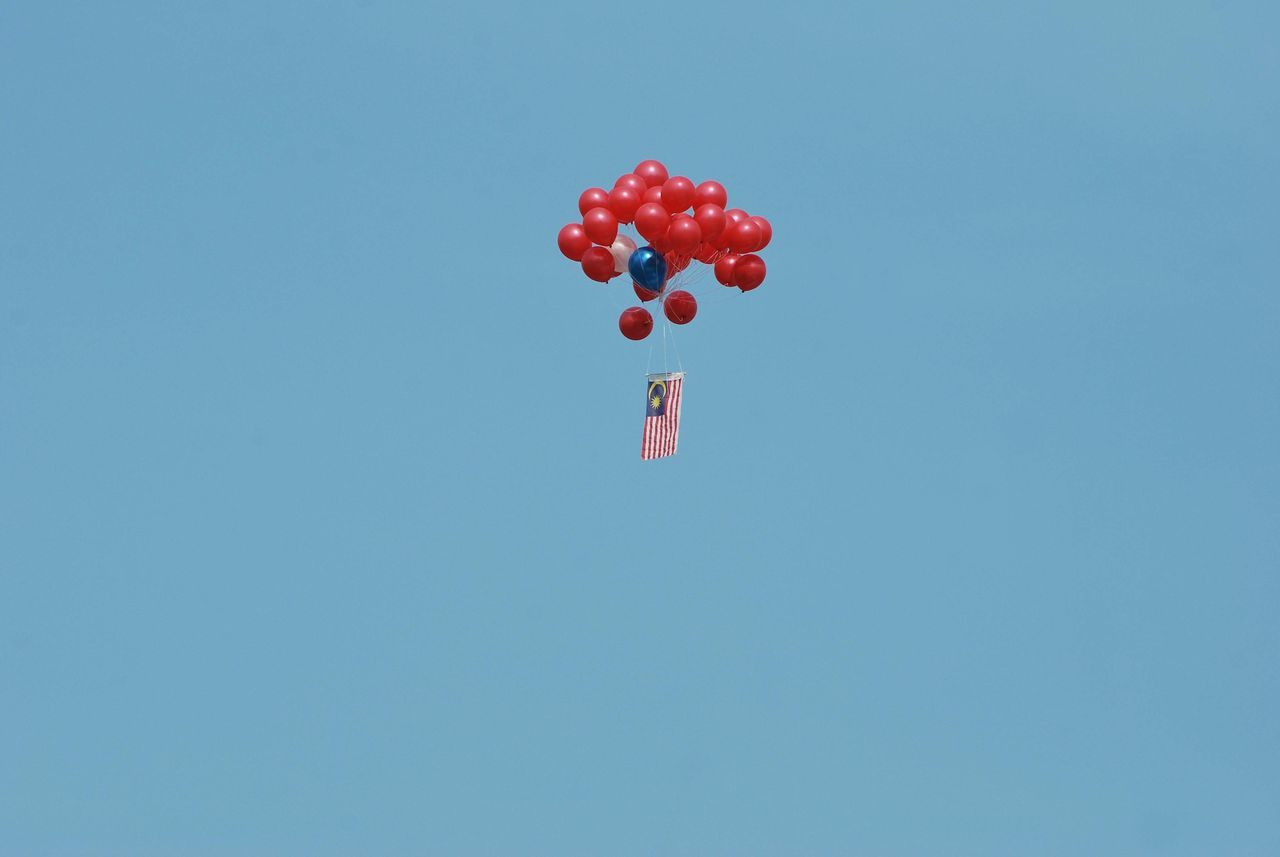 Beautiful stock photos of hochzeitstag, Balloon, Celebration, Clear Sky, Copy Space