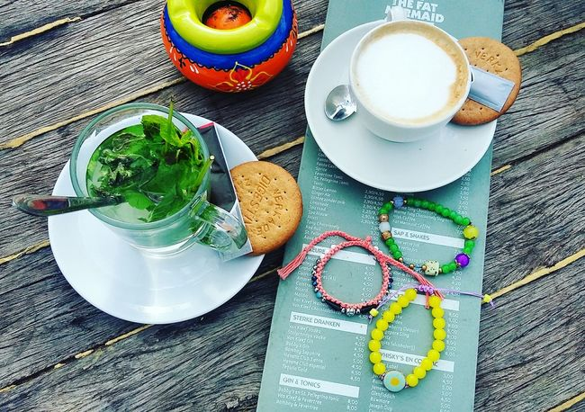 Coffee Time Colors Beautiful Enjoying Life Lidajewelry Bracelet Handmade Jewellery