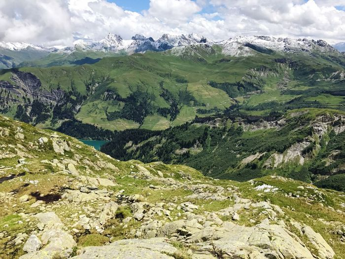 Alps Beaufort  Mountain Landscape Nature Challenge Sky No People Outdoors Day Hiking Mountains Mountain Range Alps France
