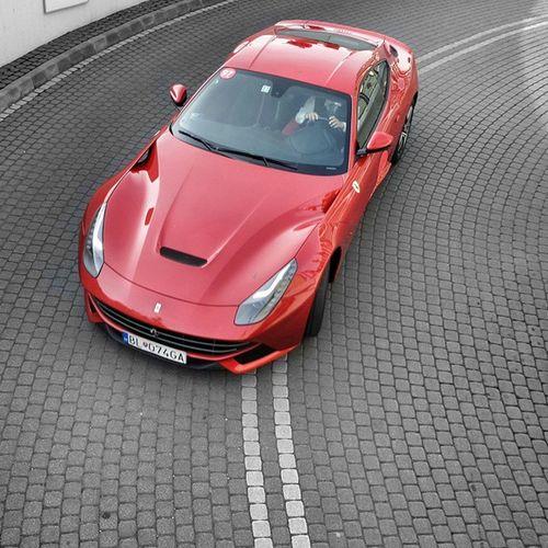 Ferrari Ferrari F12 Berlinetta Italian Sportcar Hungary Budapest Carspotting Red Colour Hotel Frd