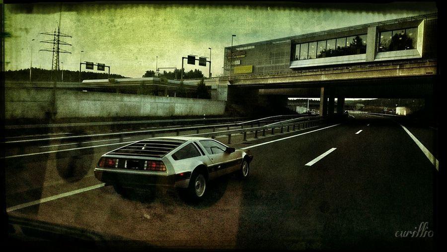 Knonauer Amt DMC DeLorean Autobahn Back To The Future
