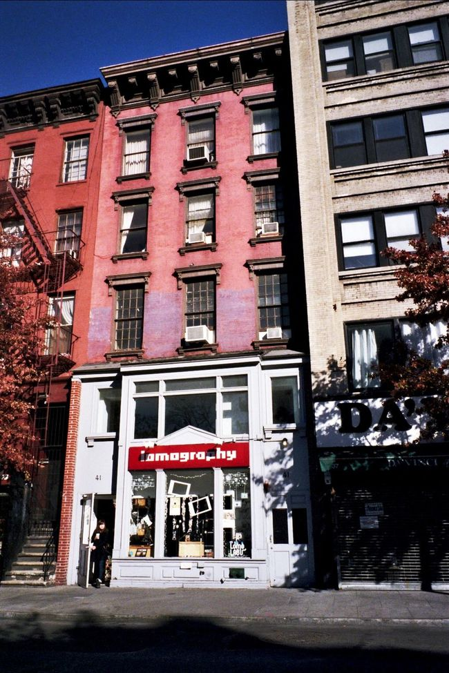 NYC Photography I Shoot Film Walking Around Architecture Klasse W