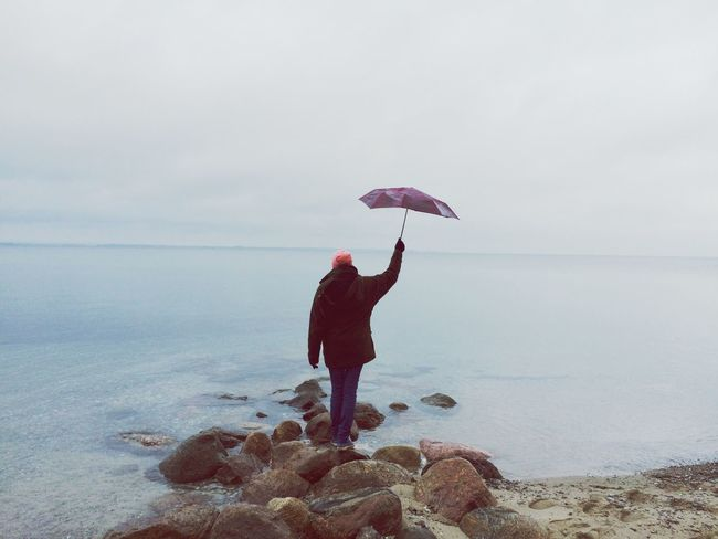 Showcase: November Baltic Sea Mypointofview Allalone Umbrella Marypoppins