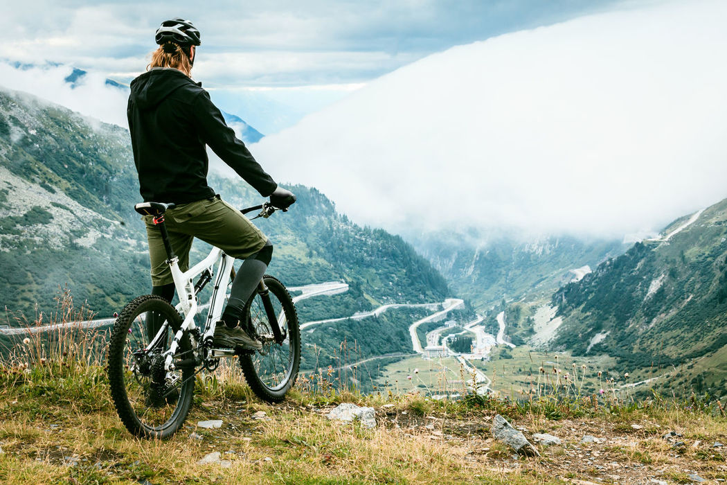 Action Active Adventure Bicycle Cloudy Cycling Fun Men Motion Mountains MTB MTB ADVENTURE MTB Biking Nature Outdoors People Person Scenics Sport Sports Switzerland View