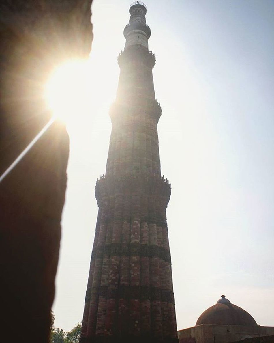 """QutubMinar "" QutubMinar Qutub Minar Delhi India Incredibleindia Architecture Monument Indiapic Indiapicture Tourist Art Indiana Streetphotography Travelphotography Travel Clicks Love Photographer Gulfam Fotofinch Delhi_igers Dfordelhi Indiaphotosociety Indiatravel _ios like comment followmeplease"