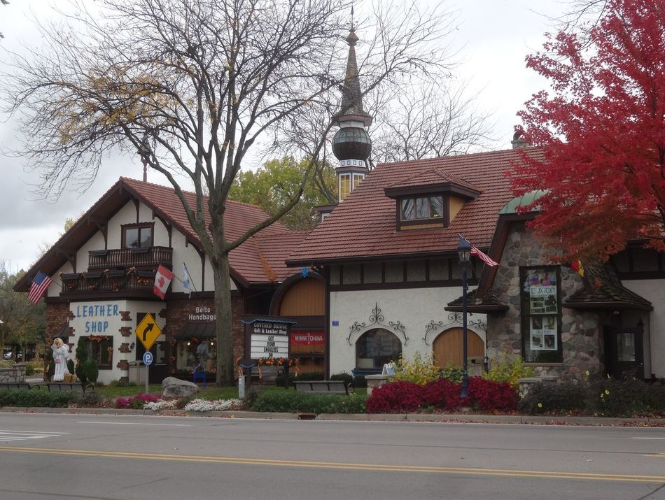 Tree Architecture Building Exterior Built Structure Outdoors Sky City No People German Village Autumn Colors Nature Lover EyeEm Best Shots Showcase March Pure Michigan Frankenmuth Michigan Nature_collection EyeEm