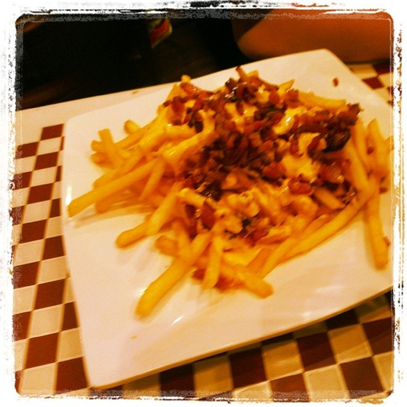 Excelentes Papas Fritas Bacon Chesse
