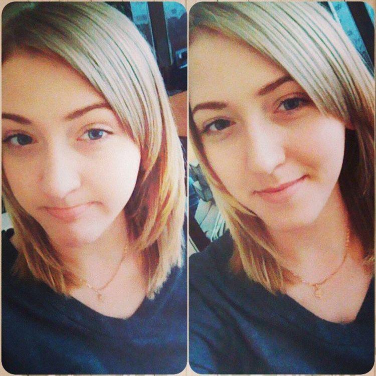 안뇽~ 나의새롭게만든머리야 ㅋㅋ Spring Summersoon Hot Blond me russia russiangirl cuthair hair new 2013