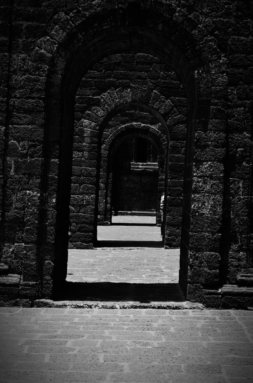 arch, built structure, day, architecture, the way forward, no people, indoors