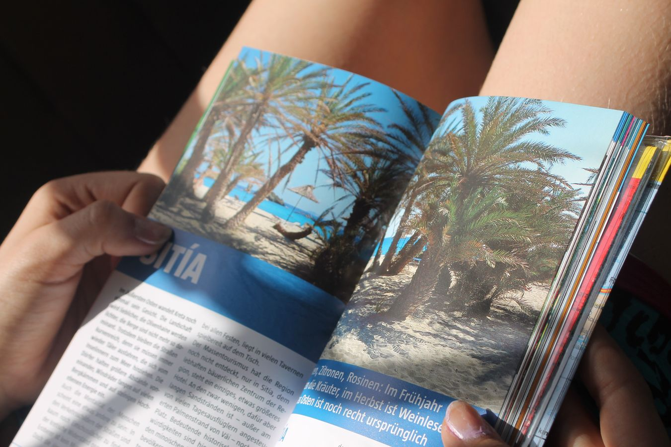 Real People Holding Human Hand One Person Book Close-up Paper Indoors  Human Body Part Day People Mediterranean  Greece Crete Greece Reading Travel Travel Guide