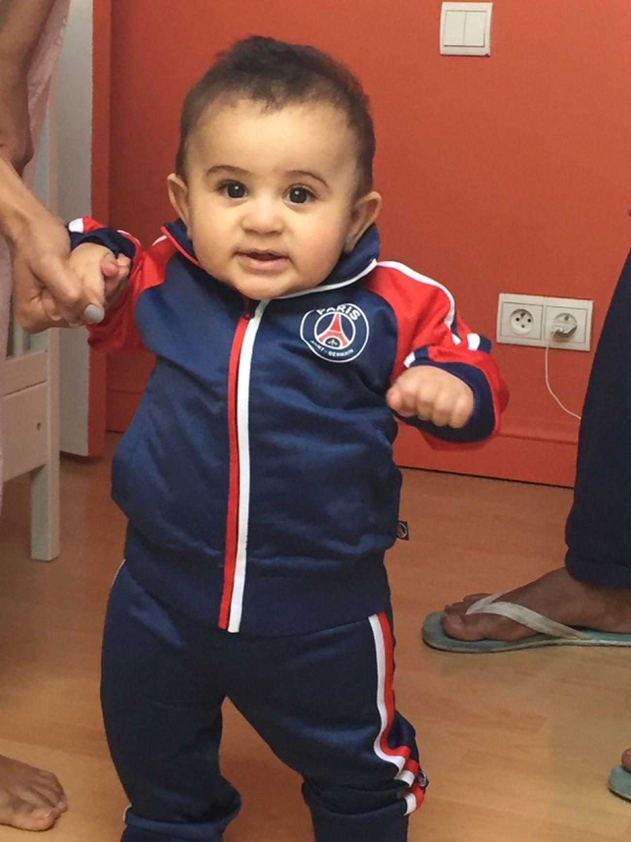 La releve Paris Saint Germain Cute Baby Footballislife Hello World