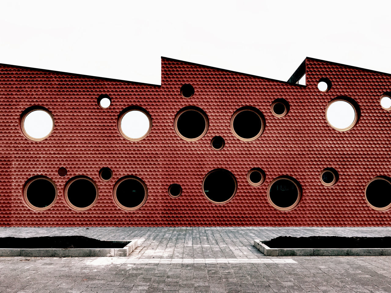 Braille. P112 Amsterdam Onephotoaday 365project Makemoments Walking Around Architecture Round Window School Reflection Modern Architecture The OO Mission