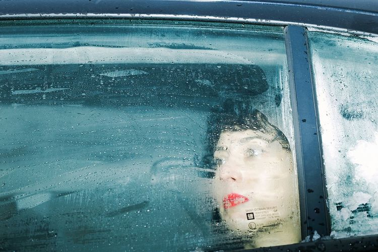 Portrait Woman Frost Window Car Glass Photovogue Color Koustoz Stellouisdreaming Uncertain Snap a Snap a Stranger Stranger BYOPaper! Live For The Story