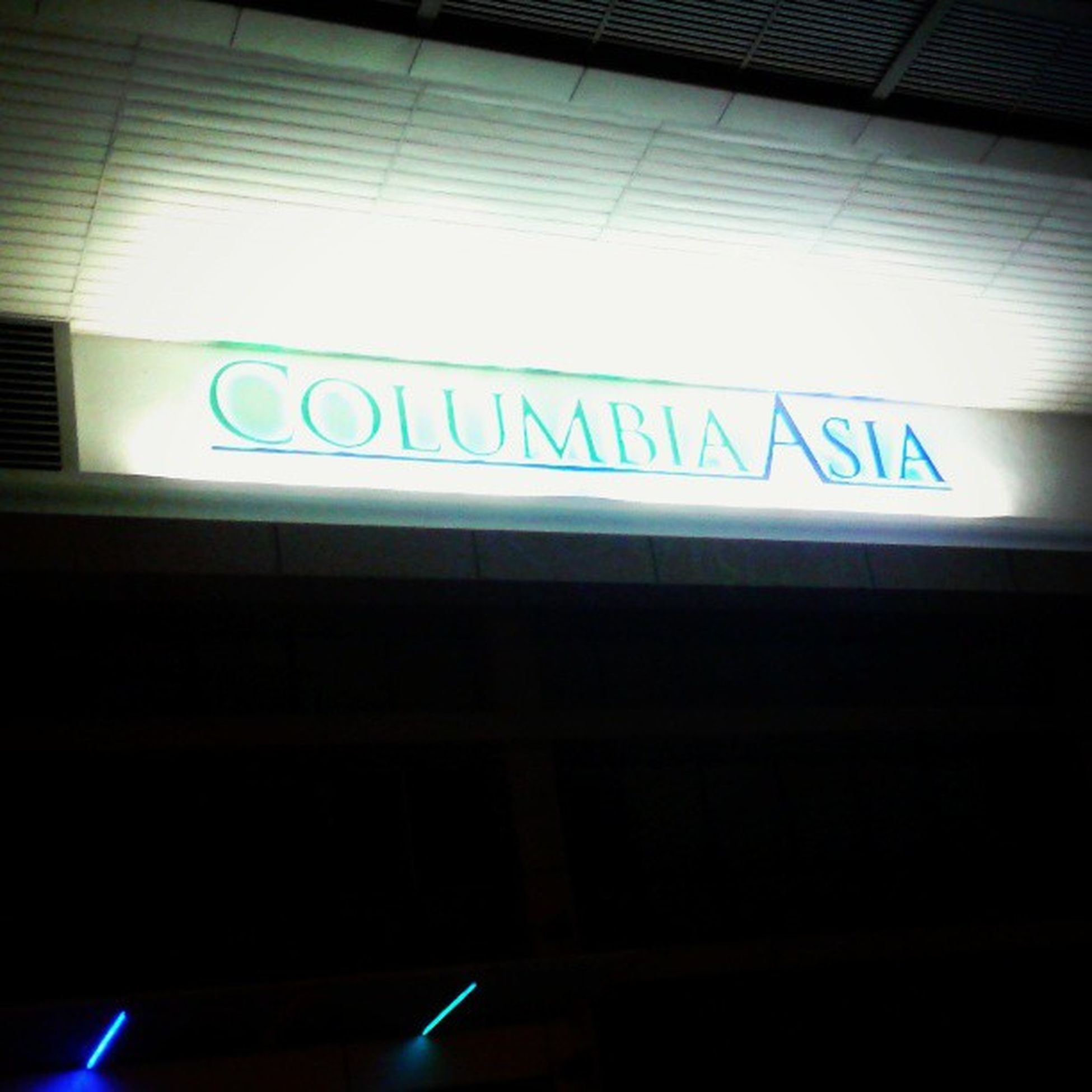 An appoinment at night.. Parents Ent Hospital Columbiaasia