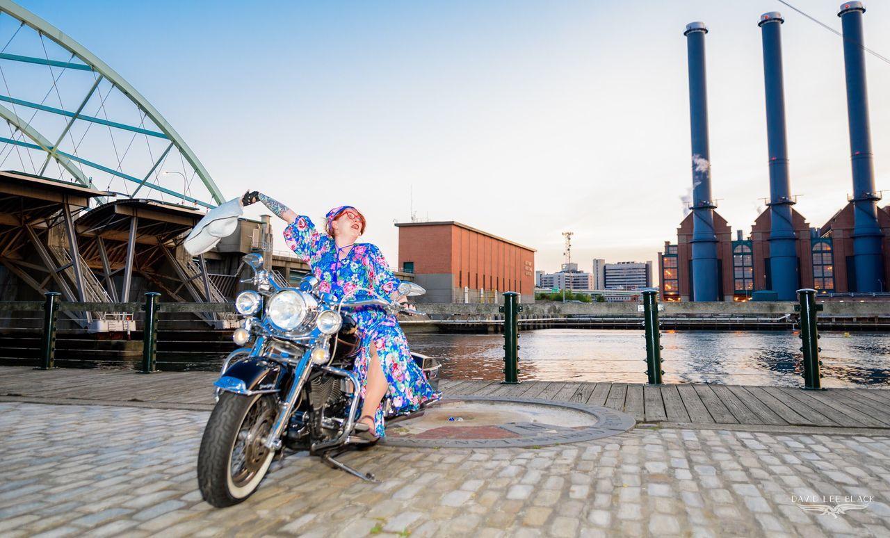 Beautiful stock photos of regenbogen, full length, city, sunlight, riding