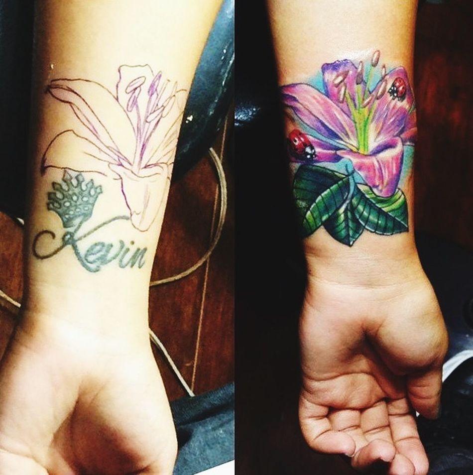 Tatuaje Color Splash citas whatssap 3118985838 Work