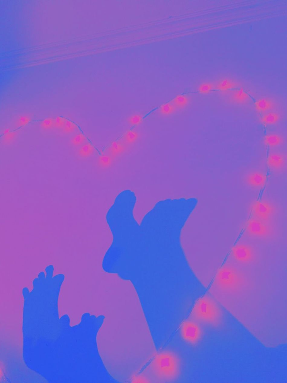 Cut And Paste Pink Color Silhouette Close-up Indoors  Break The Mold Art Is Everywhere Girls' day. Cut And Paste
