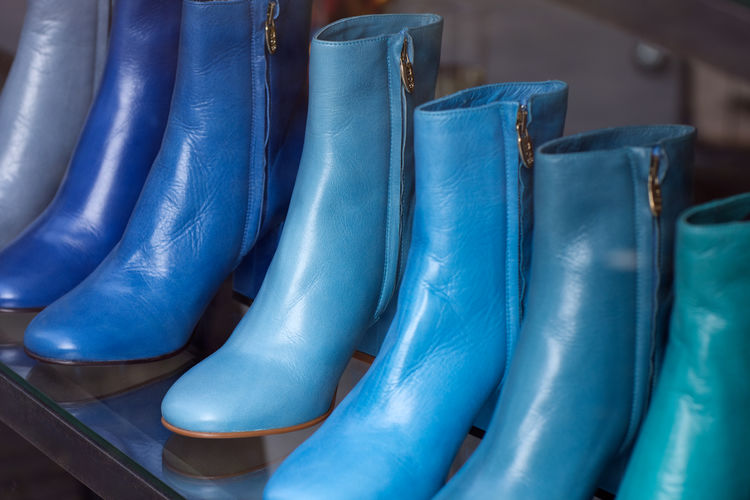 Impression of the city of The Hague (Den Haag) with its rich tradition combined with modern touches. Boots Den Haag Nederland The Hague Arrangement Blue Blue Boots Blue Sky Close-up Clothing Day Indoors  Netherlands ❤ No People Retail  Shop Window Store