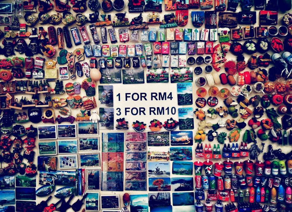Mix and match. Choice Large Group Of Objects No People Full Frame Indoors  Colorful Fridge Magnets Collections Souvenirs
