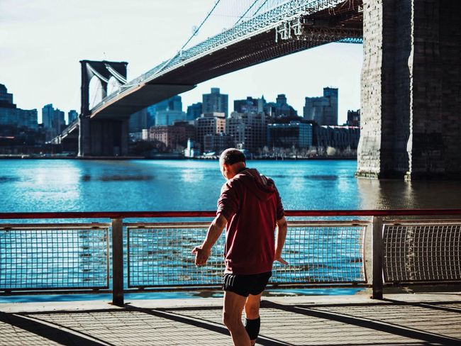 Alternative Fitness Showcase April Brooklyn Bridge / New York VSCO New York City EyeEm Best Shots Capture The Moment