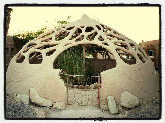 Arava Weird Buildings Garden Holes