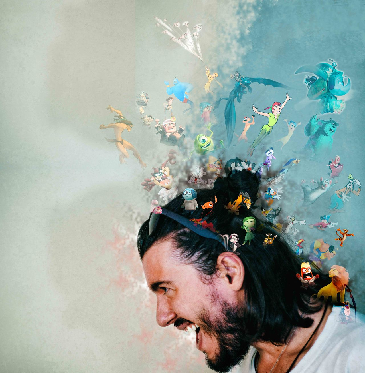[Creative Universe] Close-up Disney Headshot Human Face Lifestyles Looneytunes Person Pixar  Portrait Work July Showcase