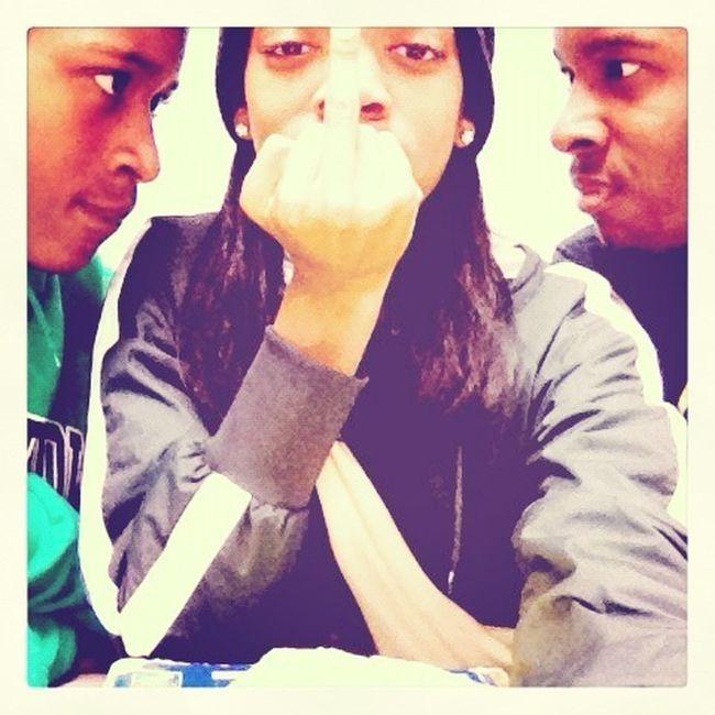 Justin,sharonda,and Me Lol