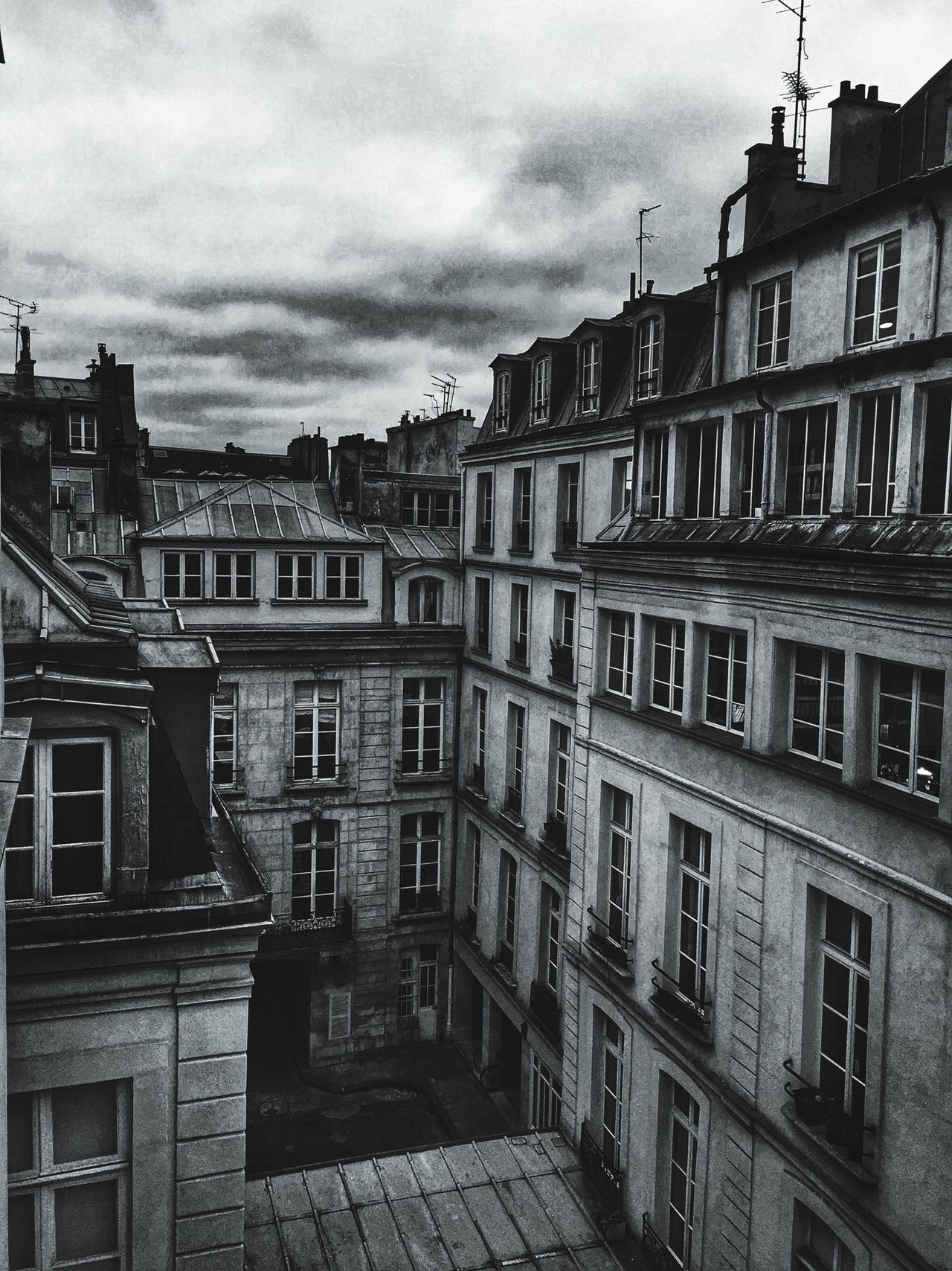 Monochrome Blackandwhite Architecture Paris