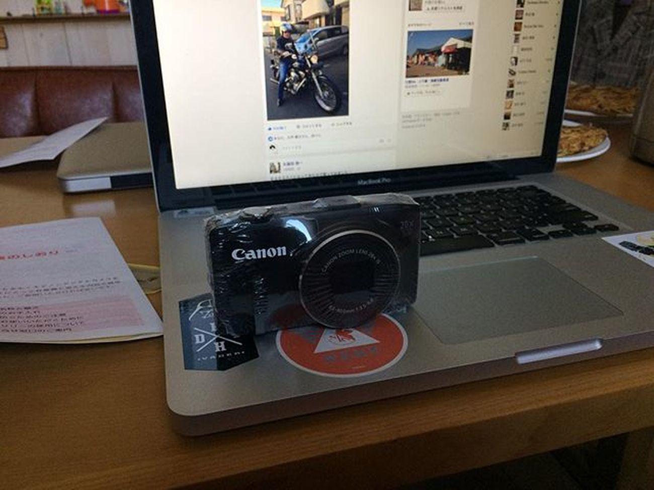 2週間ぐらいかかるって言われてたのにもう帰ってきた Canon Canonsx280hs 修理
