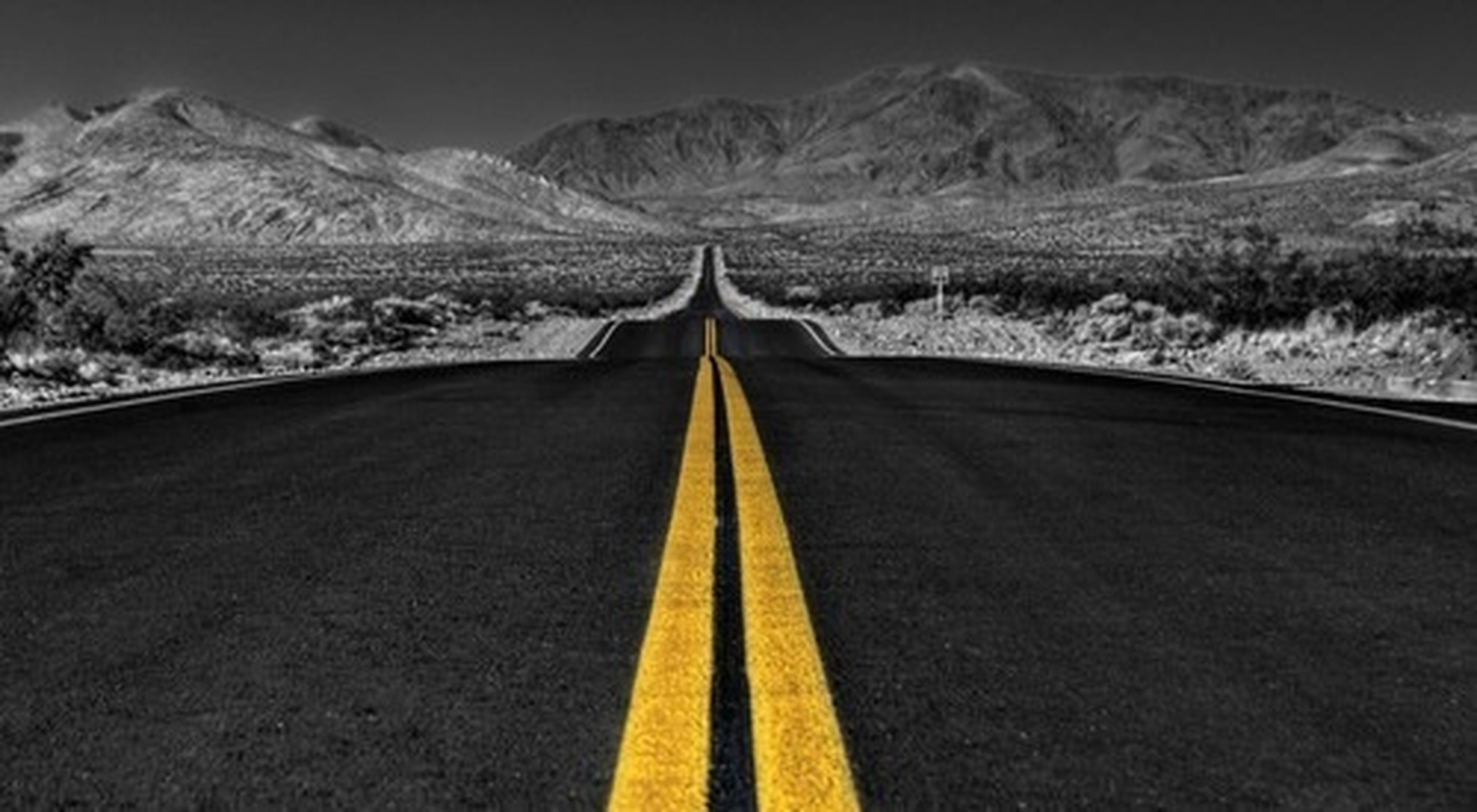 the way forward, mountain, diminishing perspective, transportation, road, landscape, vanishing point, road marking, tranquil scene, tranquility, country road, mountain range, non-urban scene, scenics, nature, beauty in nature, asphalt, clear sky, sky, empty road