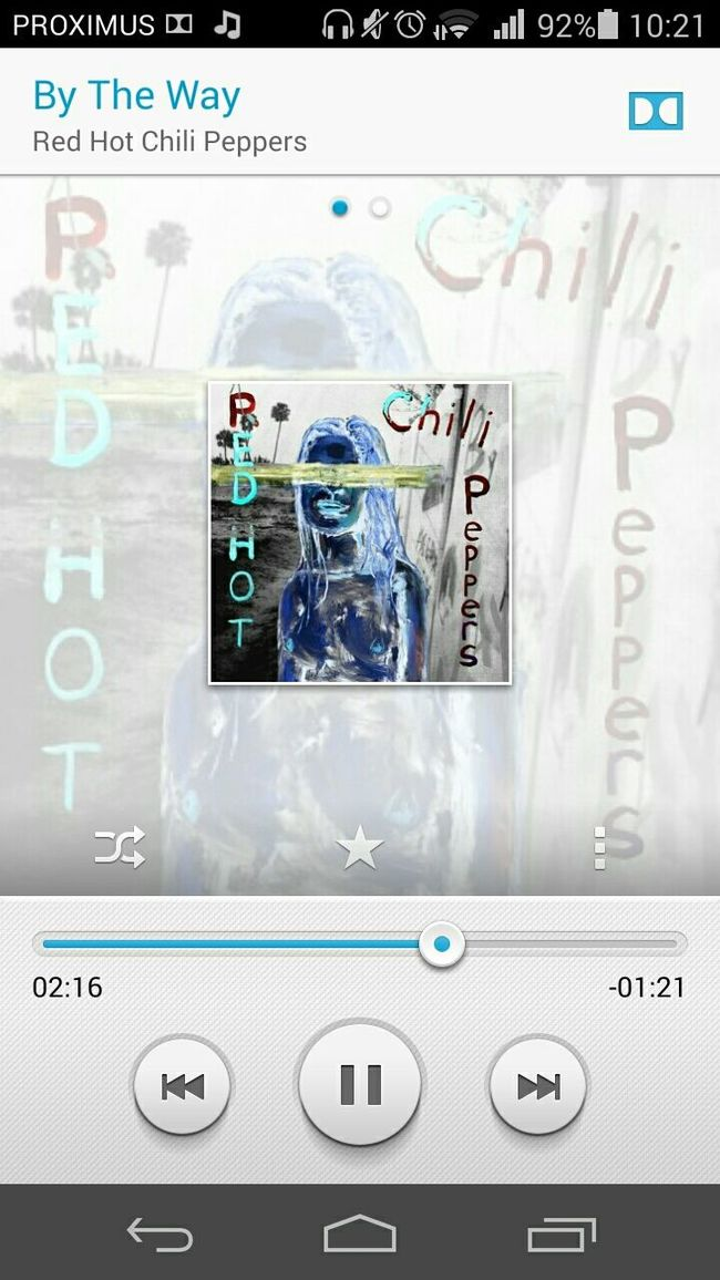 Ca fait du bien aux oreilles :-) ( en francais pour une fois) Redhotchilipeppers ByTheWay Goodmusic